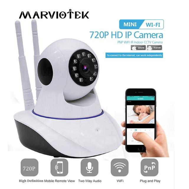 720P 1080P IP Camera Wi fi 360 Degrees Rotation Night Vision Network Surveillance Camera Home Security Plug And Play PTZ Camera
