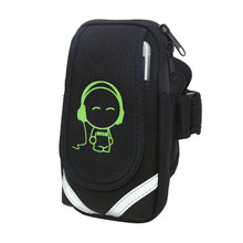 Running Mobile Phone Arm Bag Sports Wrist Men and Women Waterproof Fitness Set