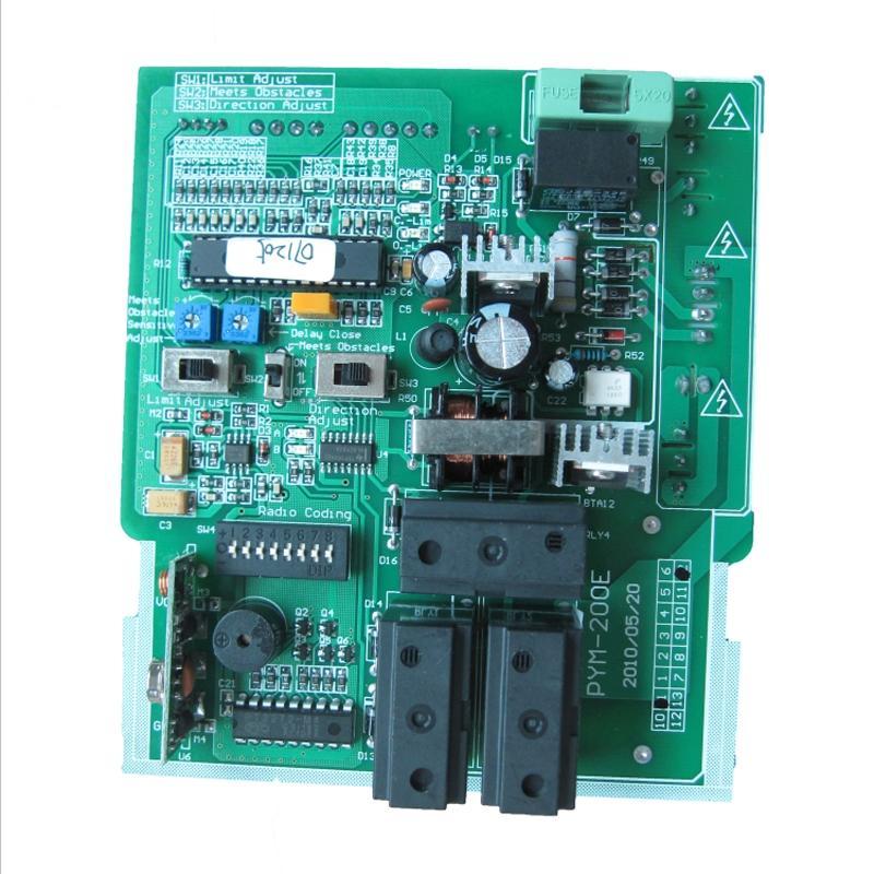 Le circuit de portail coulissant moteur