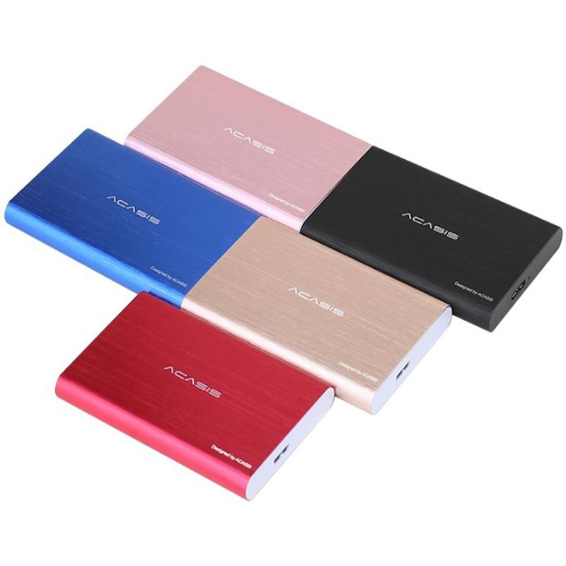 Acasis жесткий диск USB3.0 внешний жесткий диск 120 ГБ HDD устройства хранения рабочего ноутбука HD экстерно
