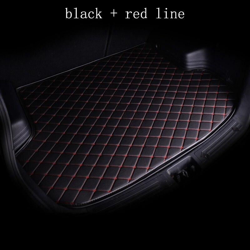 kalaisike custom car mat trunk for Infiniti all models FX EX JX G M QX50 QX56 QX80 QX70 Q70L QX50 QX60 Q50 custom cargo liner масляный фильтр infiniti qx56 qx80 gtr