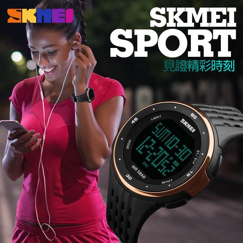SKMEI Mäns Sportklocka 50 meter Vattentät LED Sport - Herrklockor - Foto 2