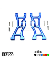 1Pair LOSI 1/10 ROCK REY Suspension Arm RK055 Aluminum Alloy Front Lower Suspension Arm for 1:10 RC Cars Modified Parts