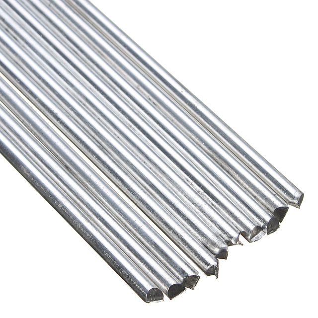 10 Pcs 230mm Longueur Aluminium De Soudage Tiges 3 2mm