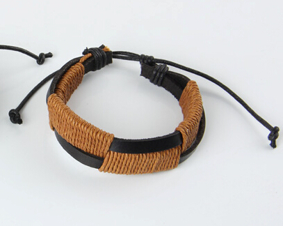 JINSE Leather Bracelet...
