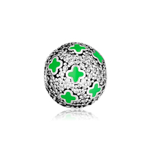CKK Bead Pale Cosmic Stars Clip Charms Fit Pandora Charms Silver 925 Original Bracelet Fashion Beads for jewelry Making C007 fits pandora charms bracelets pale cosmic stars clip beads 100% 925 sterling silver jewelry free shipping