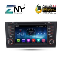 7 HD Android 8.1 Car DVD Radio For Audi A6 S6 RS6 1997 2004 GPS Navigation Stereo FM RDS WiFi Audio Video Player Gift Camera