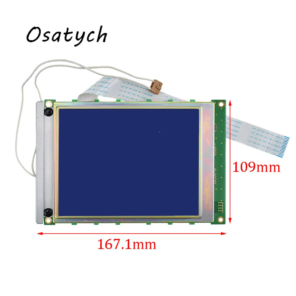 For Hitachi 5.7inch LCD Screen Display Panel LMG6911RPBC LMG6911RPBC-00T Replacement Digitizer for samsung 12 1inch ltm121si t01 tablet lcd screen display panel 800 600 replacement digitizer monitor