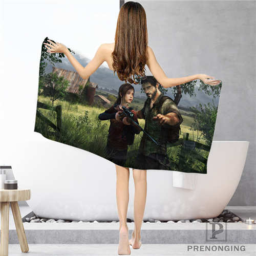 Custom The Last Of Us (1) Bathroom Washcloth Towels Face Towel/Bath Towel Shower Towels Size 33x74cm/72x143cm#18-12-17-05-229