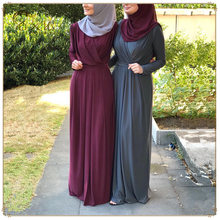 0352cb2f9299 Donne Abaya Marocchino Kimono Dubai Turchia Bangladesh Abbigliamento  Islamico Caftano Arabo Elegante Musulmano Dress Robe Jilbab