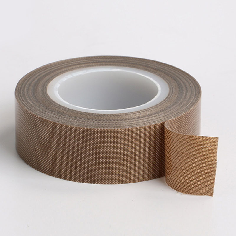 10M/Roll Tape Teflon Resistant High Temperature Adhesive Cloth Insulation 300 Degree Vacuum Sealing Machine Teflon Tape