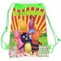 1 рис сад xiaobing Университет ранцы дети мультфильма рюкзак шнурок мешок и инфантильный мешок Для детей обратно в школу