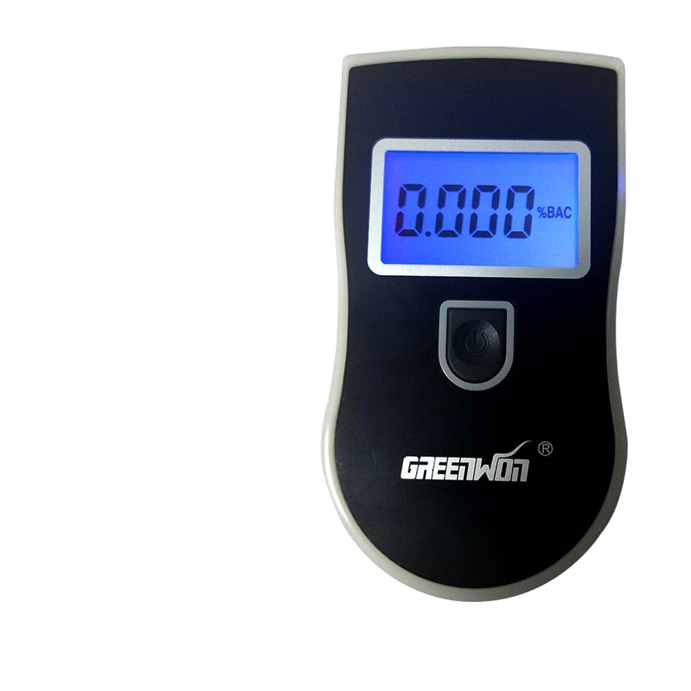 GREENWON Digitale Atem Alkohol Tester, Auto Alkoholtester, Tragbare Alkohol Meter, Wein Alkohol Test