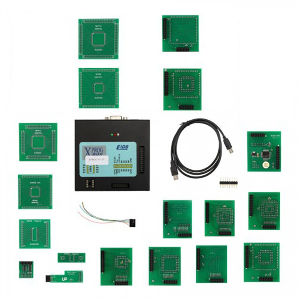 <font><b>XPROG</b></font> 5.55 ECU Programming <font><b>Programmer</b></font> Auto Chip Tuning Diagnostic Tool Car Repairing Scanner Tools Especially for BMW CAS4 image
