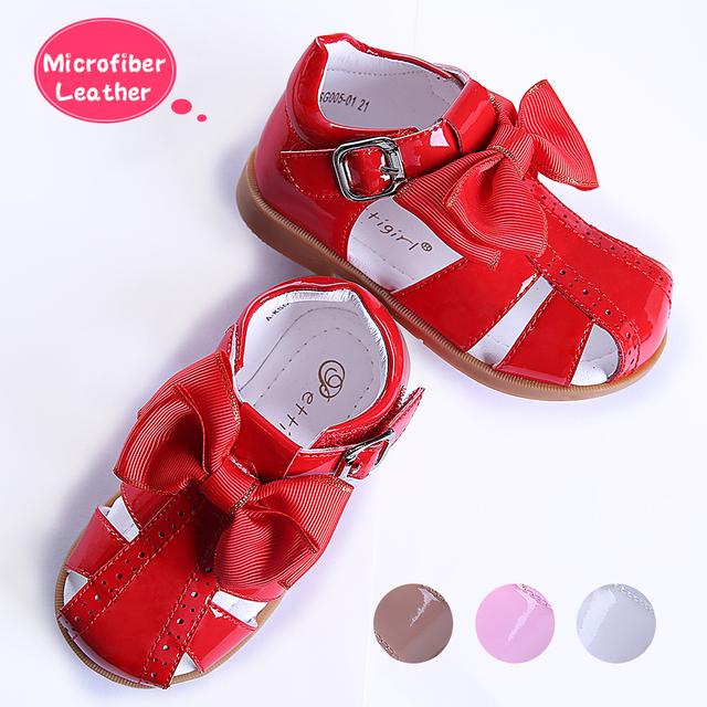 Girls Sandals Microfiber Leather Princess