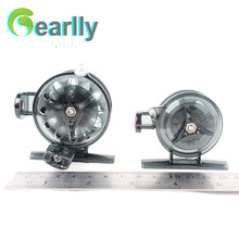цена на Gearlly High quality two size plastic ice fishing reel fly fishing reel free shipping