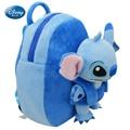 Da Disney Lilo & Stitch meninas menino de escola mochila - 31 cm escola Plush 100% garantia de qualidade autêntica