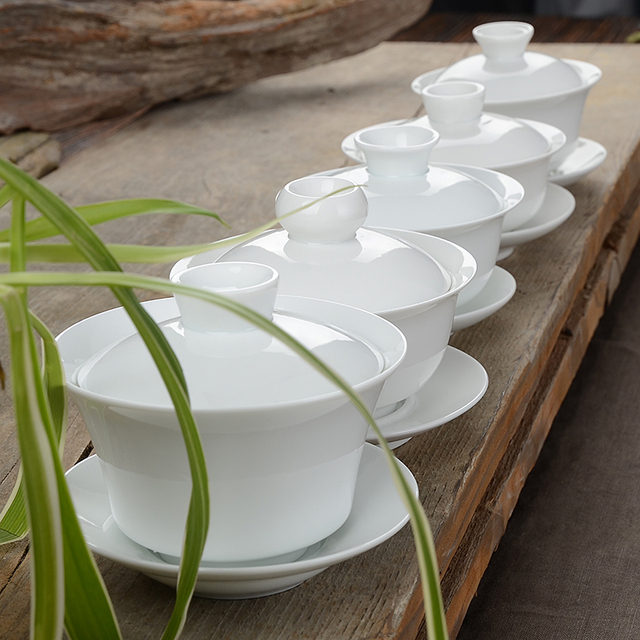 Traditional Gaiwan Gong Fu Ceremony Bowls
