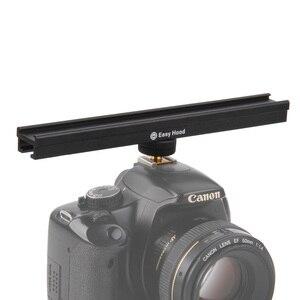 Image 5 - EasyHood ESE 20 20 cm 8 kamera do zimnego rozszerzenia wspornik szyny Bar dla lampa błyskowa LED lampa wideo mikrofon