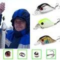 SEALURER flotante Wobbler Pesca VIB atraer 5 cm 9G mosca Artificial Pesca Crankbait cebo duro Jerkbait abordar 5 color disponible 1 piezas