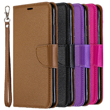Luxury PU leather case for Sony Xperia 10 clamshell wallet back cover bracket Capa phone
