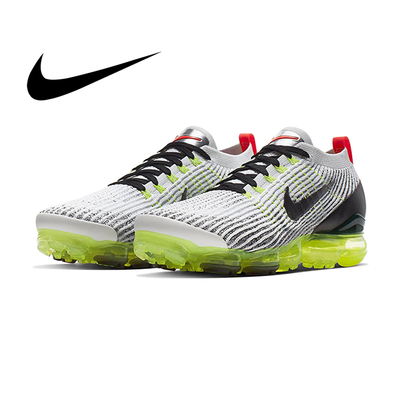 e83b0325d50 Original auténtico Nike AIR VAPORMAX FLYKNIT 3 zapatos de correr para  hombre zapatillas deportivas al aire
