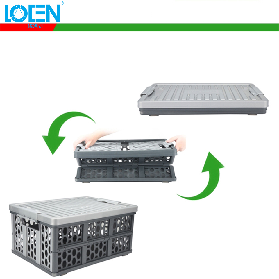Opvouwbare multifunctionele auto Plastic Auto opbergdozen Container - Auto-interieur accessoires - Foto 3