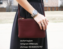 [Hely Coptar] 100% Genuine Leather Import Nappa Cow Leather Women Handbags High Quality Vintage Style Solid Shoulder Bags 25cm
