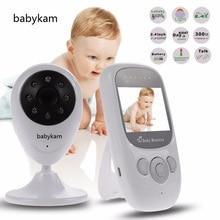 Babykam Baby Monitor Baby Monitors 2 4 inch IR Night vision Lullabies Temperature monitor Intercom nanny