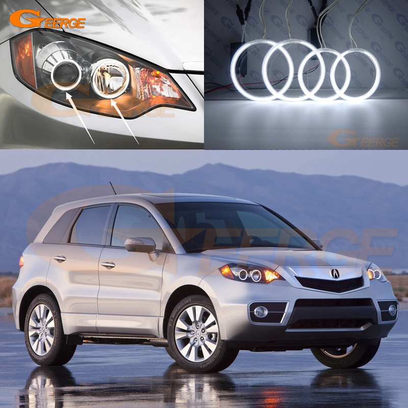 For ACURA RDX 2007 2008 2009 2010 2011 2012 Excellent Angel Eyes Ultra bright illumination CCFL angel eyes kit Halo Ring for peugeot 307 2006 2007 2008 2009 2010 2011 2012 excellent ccfl angel eyes kit ultrabright illumination ccfl halo ring kit