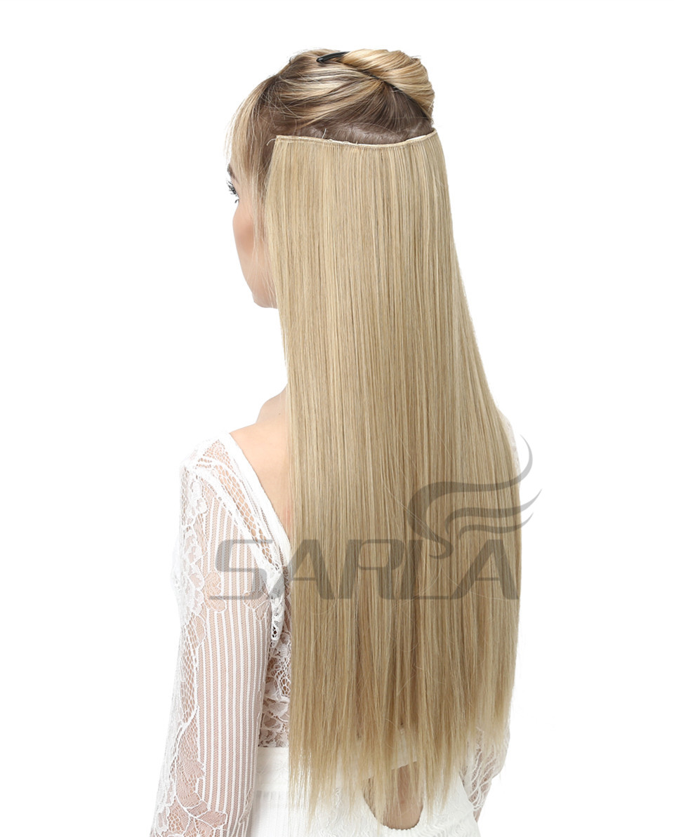 Women's 24in Straight Hair Extensions 9