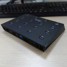 Industrial Sipolar 16 port USB 2.0 hub for U disk copy