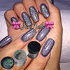 Hot 8pcs Set 4g Box Holographic Laser Powder Nail Glitter Rainbow Chrome Powder Metal Pigments Dust