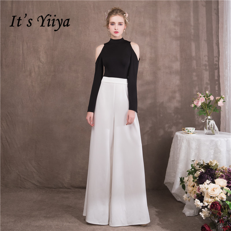 It\'s Yiiya 2018 Sales Full Sleeve Luxury Evening Dresses Famous ...
