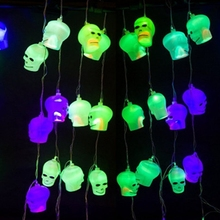 Hanging Halloween 3D Plastic LED Lights