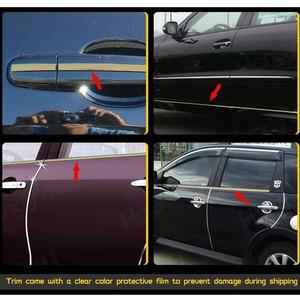 Image 3 - 5 メートルの車のクロームスタイリング装飾モールディングトリムストリップテープ自動diyボディバンパー保護ステッカー 6 ミリメートル 8 ミリメートル 10 ミリメートル 12 ミリメートル 15 ミリメートル 20 ミリメートル 30 ミリメートル