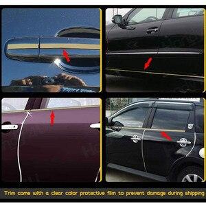 Image 3 - 5M Auto Chrom Styling Dekoration Moulding Trim Streifen Band Auto DIY Körper Stoßfänger Schützen Aufkleber 6mm 8mm 10mm 12mm 15mm 20mm 30mm