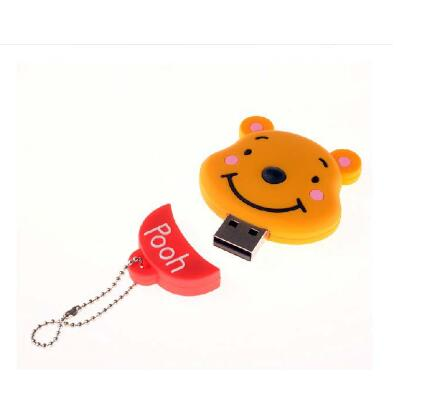 Cartoon Cute The bride and groom teddy bear doll 4G/8G/16G/32G/64G usb flash drive pen drive memory card U Disk Free shipping-in USB Flash Drives from Computer & Office