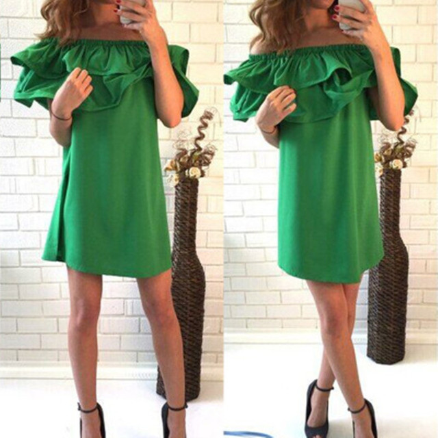 2016 new summer dresses sexy short sleeve beach dress fashion colorful women dress casual hot sale mini dresses vestidos cd1329