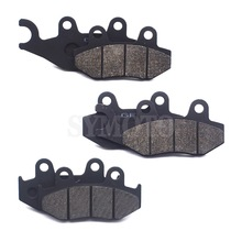 Motorcycle Front Rear Brake Pads For YAMAHA ATV YFZ450 2006-2009/2012-2013 YFZ450 R 2009-2015 YFM700 R Raptor 2013-2014 nicecnc atv front and rear lowering kit for yamaha raptor 350 yfm350 2004 2013 660r yfm660r 2001 2005 700 700r yfm700 2006 2018