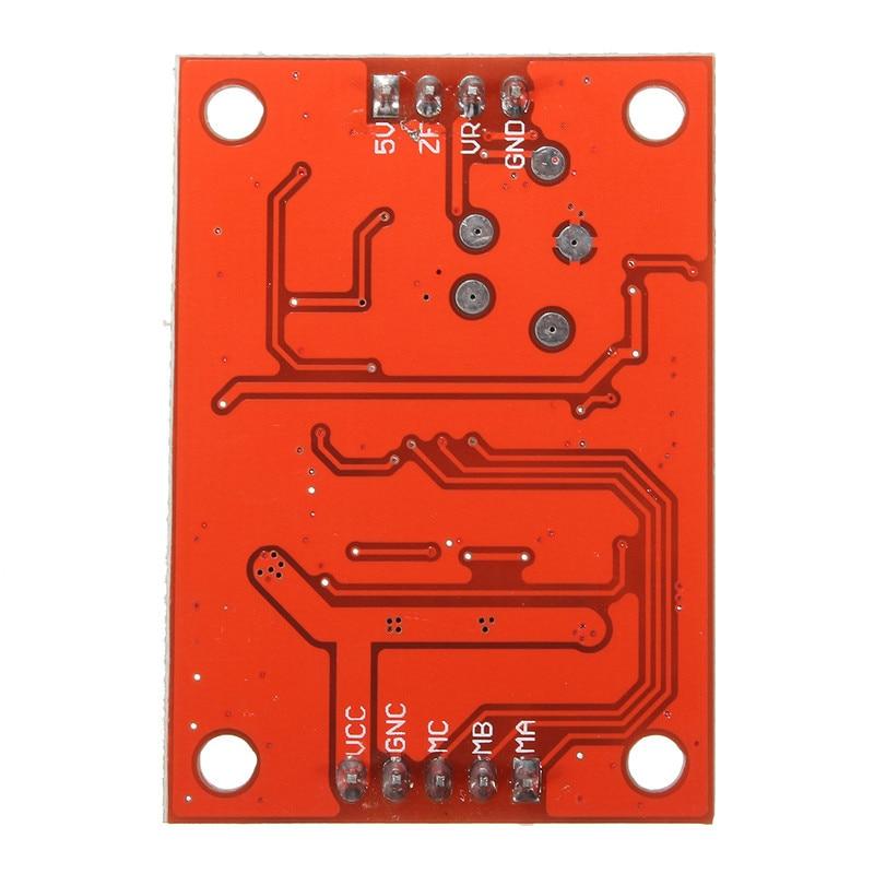 Escova Motor Driver Controlador Board DIY Kit