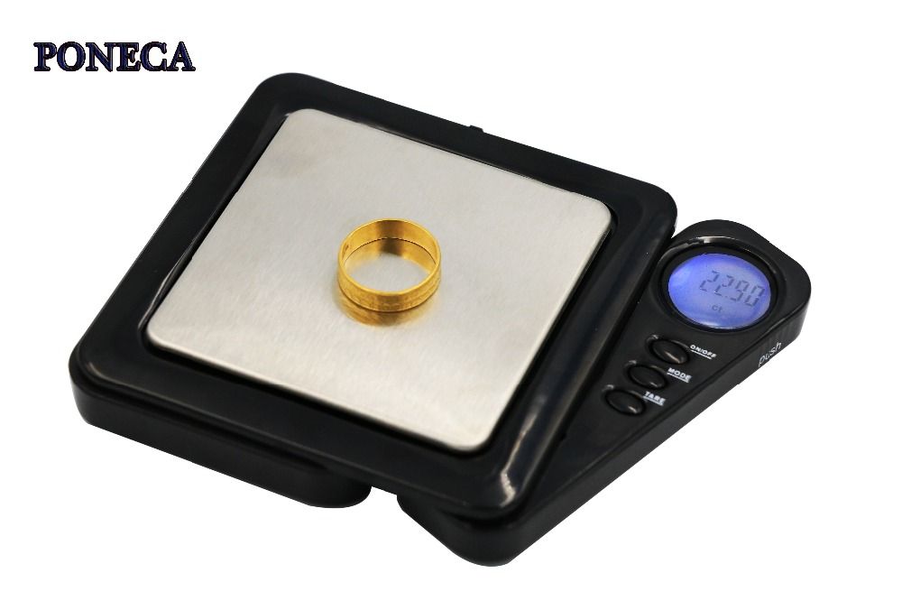New Pocket Gram Digital Scales for Gold Black Scale Jewelry Mini 0.01/100g Weight Electronic pocket scale 0.01g GOOD