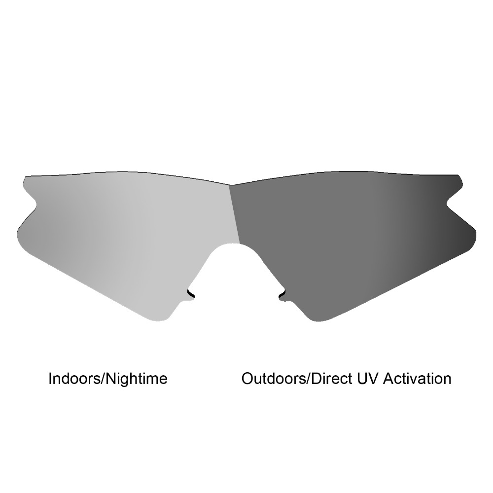 c1488e44252 Mryok Anti Scratch POLARIZED Replacement Lenses for Oakley M Frame Sweep  Sunglasses Grey Photochromic-in Accessories from Apparel Accessories on ...