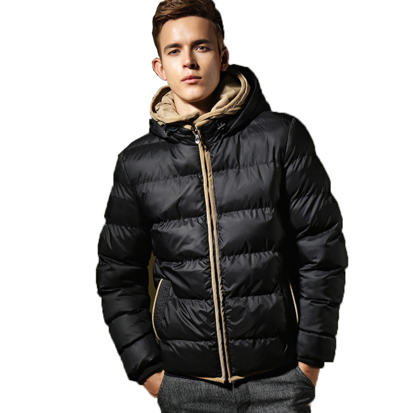 Hooded Down Jacket Men - JacketIn