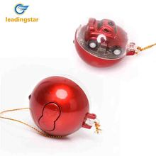 LeadingStar Mini Plastic Speed Race Wagon Creative Miniature Cute Ball Remote Control Toy Car Great Christmas Gift for Kids zk35