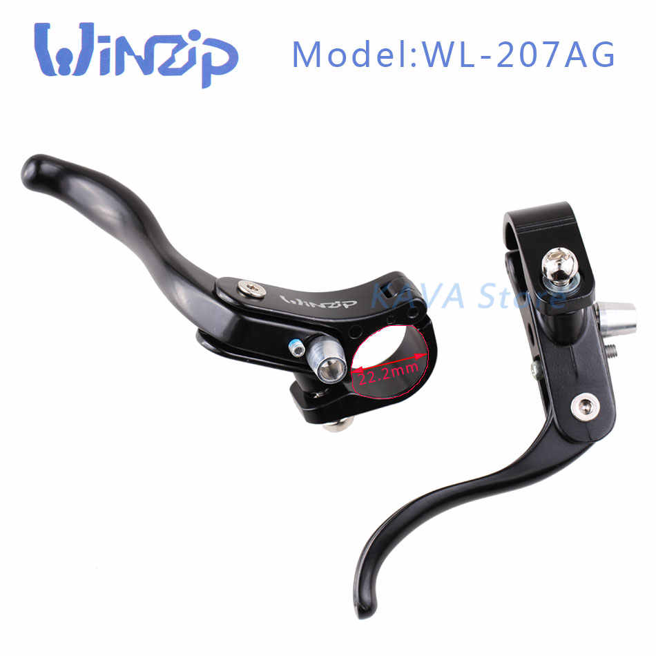 1 Pair Bicycle Brake Levers Road Bike Fixed Gear Auxiliary Brake Cycling Parts