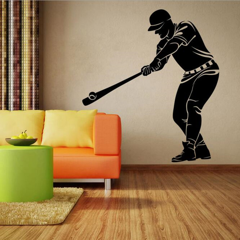 Baseball Bedroom Wallpaper Cool