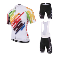 VAGGE Colorful Coolmax Cycling Body Wear Wholesale Cycling Clothing Bike Sports Wear Bicycle Clothing Set With