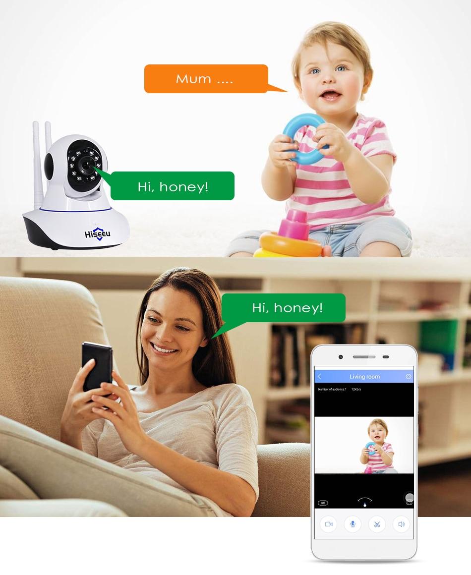 Hiseeu Ultra HD 3MP 1080P Security Camera 11
