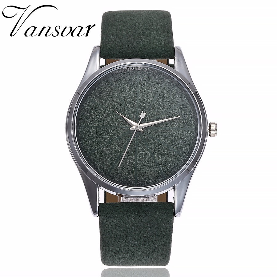 Drop Shipping Women Simple Watches Luxury Casual Fashion Women's Leather Quartz Watch Gift Clock Relogio Feminino Hot vansvar brand fashion casual relogio feminino vintage leather women quartz wrist watch gift clock drop shipping 1903